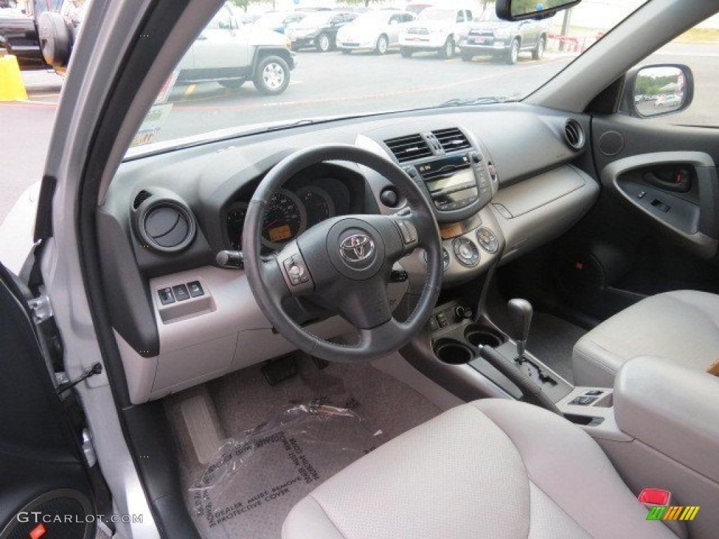 Ash Gray Interior 2010 Toyota Rav4 Limited V6 Photo