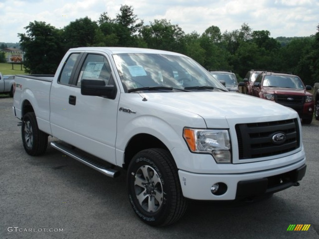 oxford white 2012 ford f150 stx supercab 4x4 exterior photo 66770689. Black Bedroom Furniture Sets. Home Design Ideas