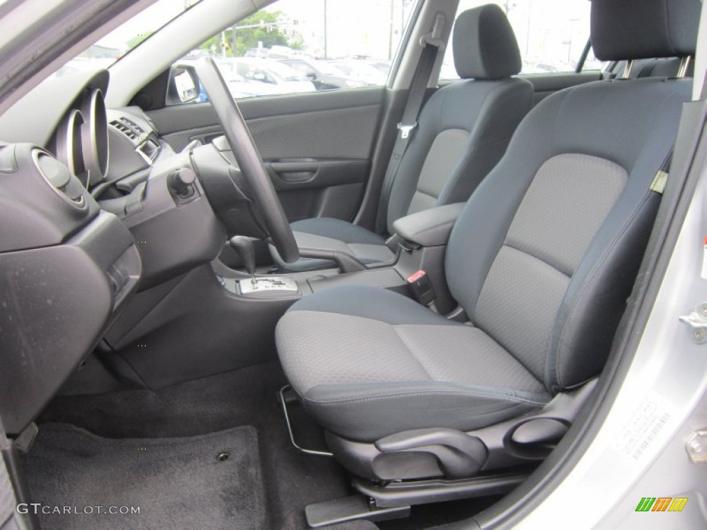 black interior 2004 mazda mazda3 i sedan photo 66790590. Black Bedroom Furniture Sets. Home Design Ideas