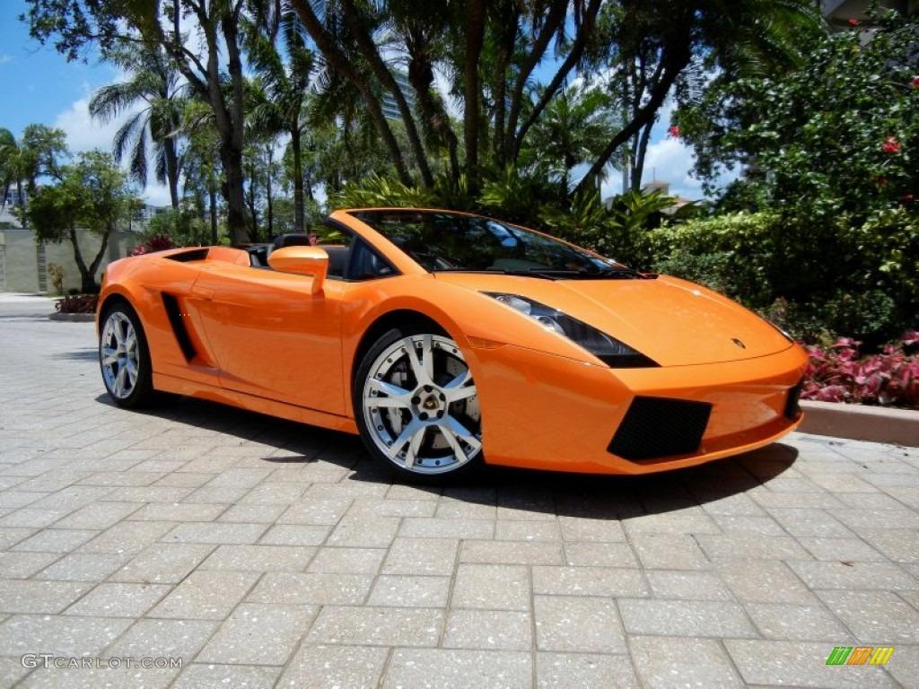 Arancio Borealis (Orange) Lamborghini Gallardo