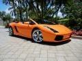 Arancio Borealis (Orange) 2008 Lamborghini Gallardo Spyder E-Gear