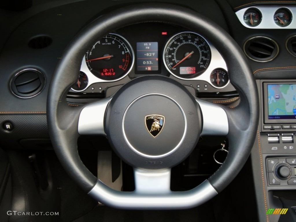 2008 Lamborghini Gallardo Spyder E-Gear Nero Perseus ...