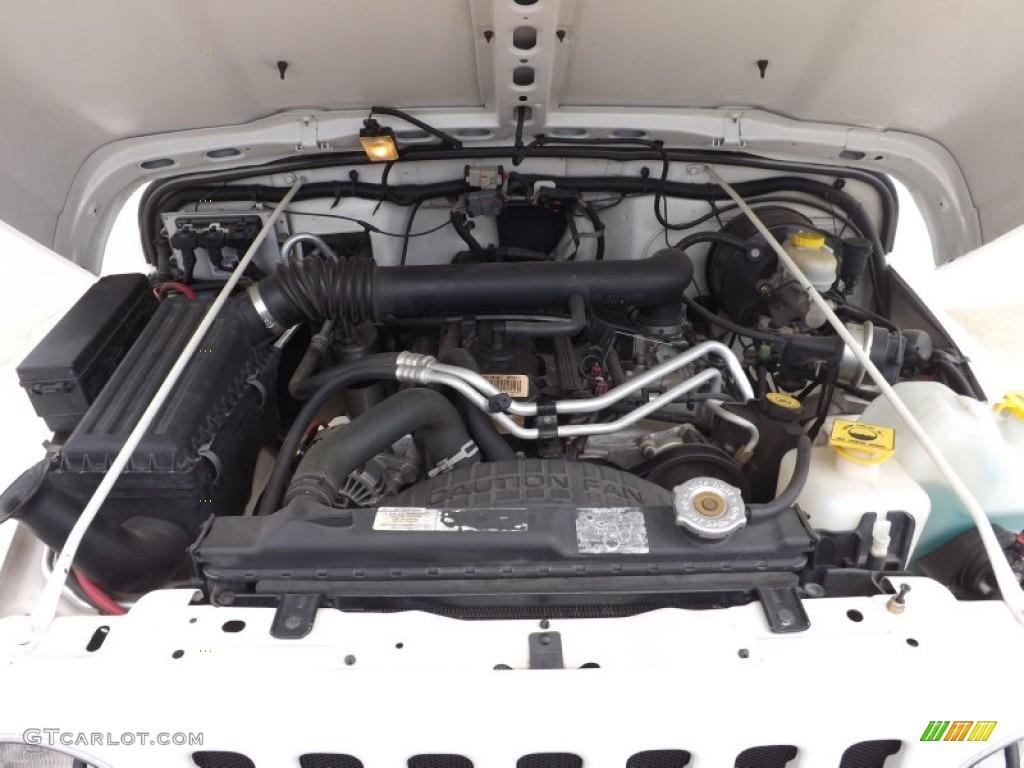 2004 Jeep Wrangler Rubicon 4x4 Engine Photos | GTCarLot.com