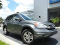 2011 Polished Metal Metallic Honda CR-V EX 4WD  photo #4