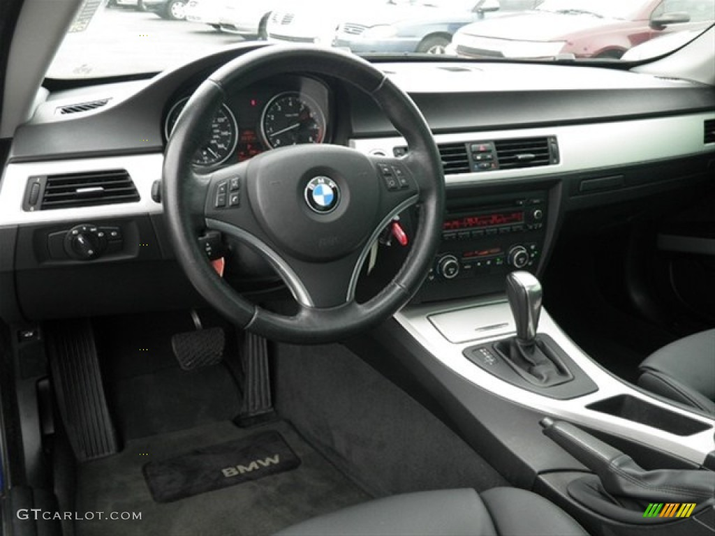 2007 bmw 3 series 328i coupe black dashboard photo #66798931