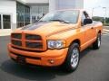 2004 Custom Orange Dodge Ram 1500 HEMI GTX Regular Cab #6557584