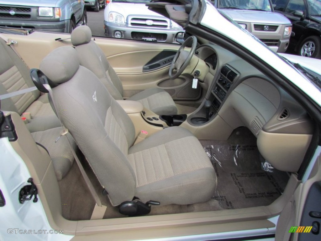 Medium Parchment Interior 2000 Ford Mustang Gt Convertible
