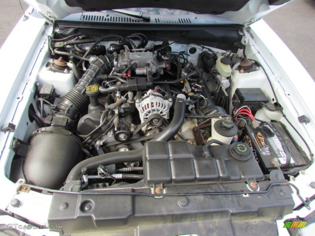 2000 Ford Mustang Gt Convertible 4 6 Liter Sohc 16