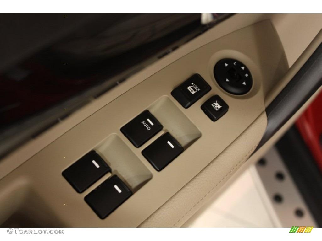2011 Sorento LX AWD - Spicy Red / Beige photo #6