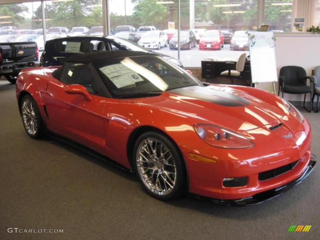 2013 inferno orange metallic chevrolet corvette 427 convertible collector edition heritage