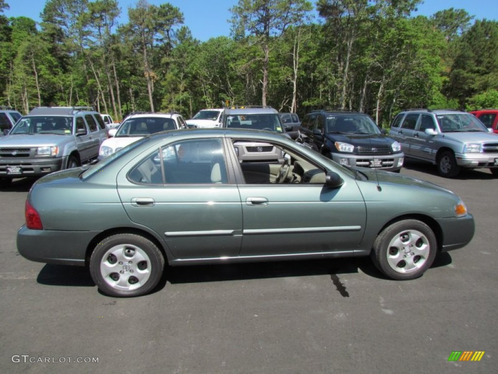 jaded green 2005 nissan sentra 1 8 s exterior photo. Black Bedroom Furniture Sets. Home Design Ideas
