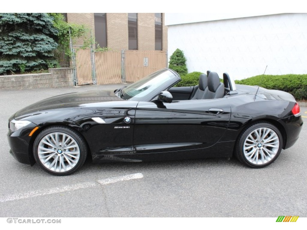Jet Black 2009 Bmw Z4 Sdrive35i Roadster Exterior Photo
