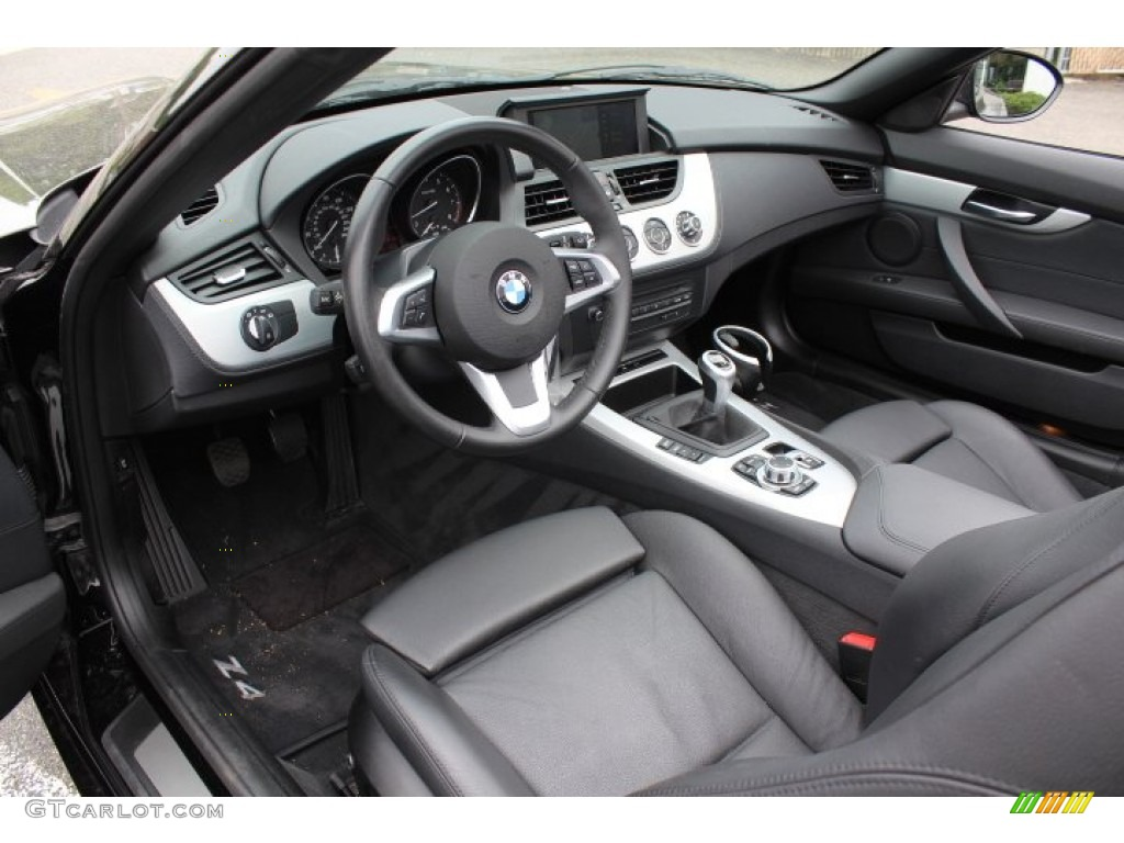 Black Interior 2009 Bmw Z4 Sdrive35i Roadster Photo