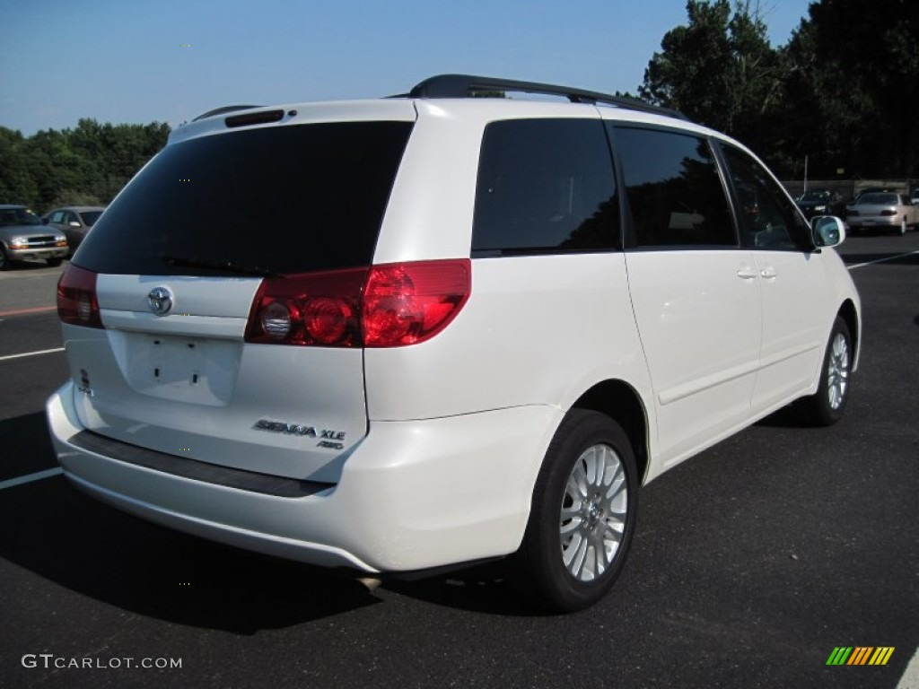 arctic frost pearl white 2007 toyota sienna xle awd exterior photo 66833318. Black Bedroom Furniture Sets. Home Design Ideas