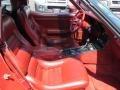 1982 Corvette Coupe Dark Red Interior