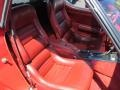 Front Seat of 1982 Corvette Coupe