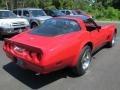 1982 Corvette Coupe Red
