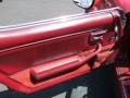 Door Panel of 1982 Corvette Coupe