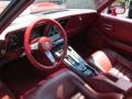 1982 Corvette Dark Red Interior