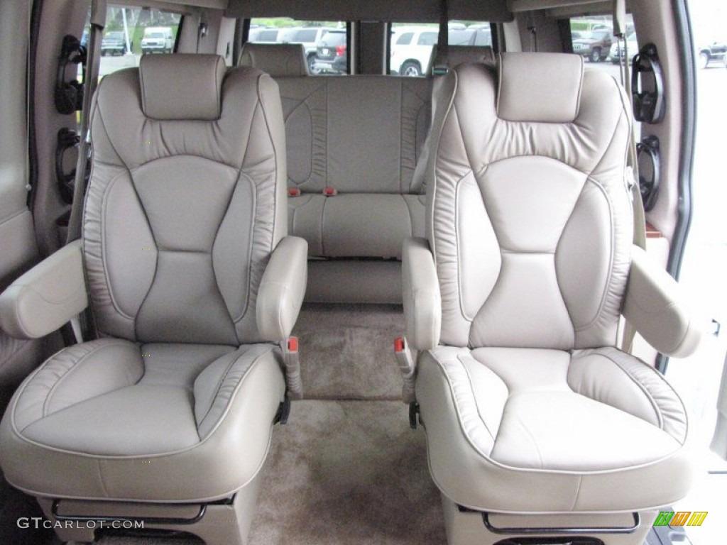 Neutral interior 2012 chevrolet express 1500 passenger conversion van photo 66837371
