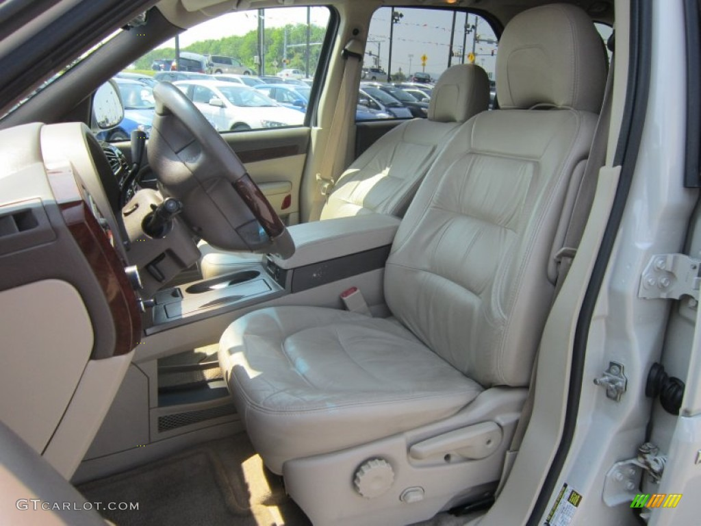 light neutral interior 2005 buick rendezvous ultra photo. Black Bedroom Furniture Sets. Home Design Ideas