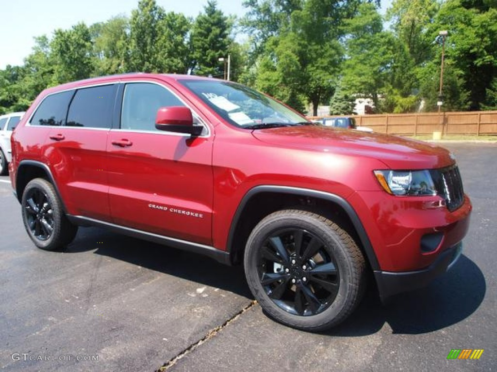 Deep Cherry Red Crystal Pearl 2012 Jeep Grand Cherokee