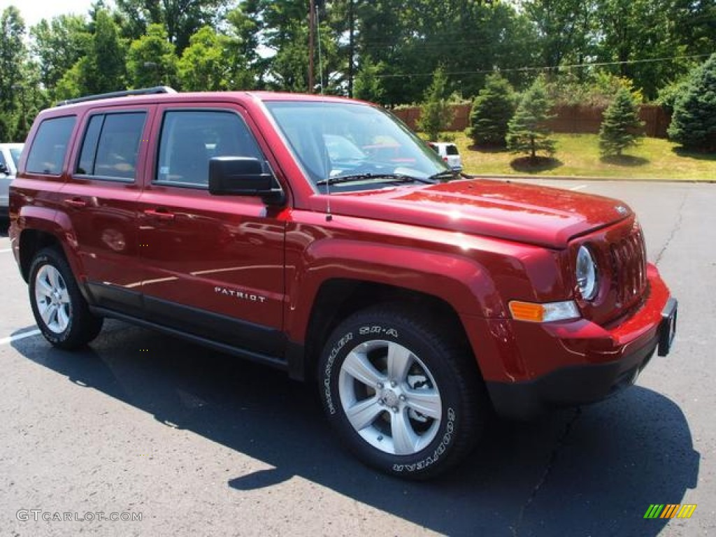 deep cherry red crystal pearl 2012 jeep patriot sport 4x4. Black Bedroom Furniture Sets. Home Design Ideas