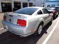 2007 Satin Silver Metallic Ford Mustang GT Premium Coupe  photo #2