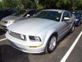 2007 Satin Silver Metallic Ford Mustang GT Premium Coupe  photo #4