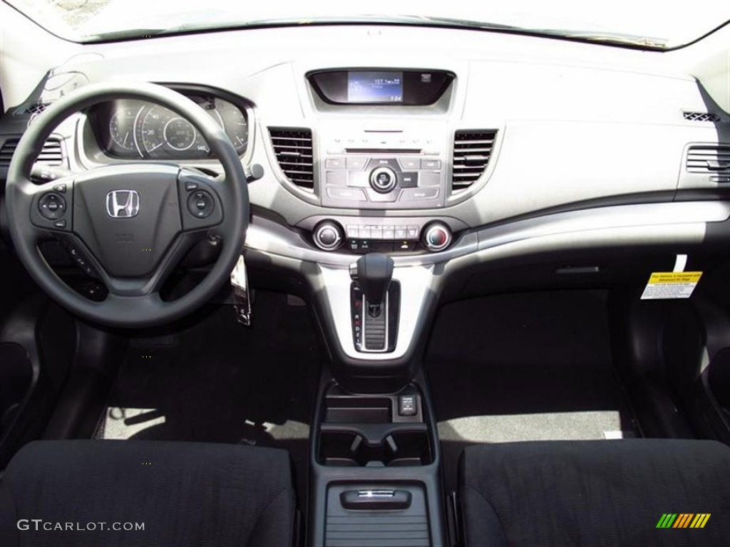 honda cr  lx black dashboard photo