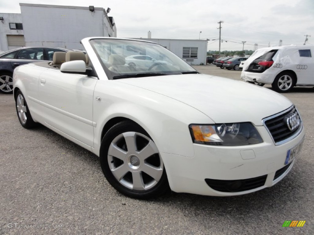 2006 arctic white audi a4 1 8t cabriolet 66820112 photo 18 car color galleries. Black Bedroom Furniture Sets. Home Design Ideas