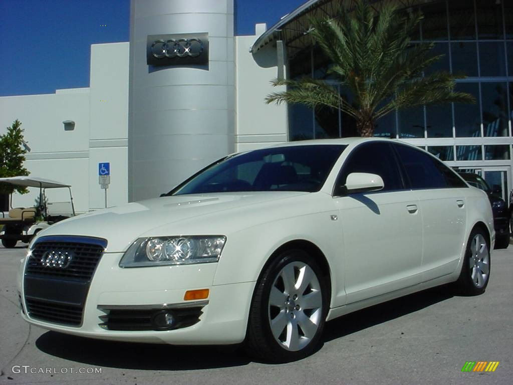 2005 arctic white audi a6 3 2 quattro sedan 662790 car color galleries. Black Bedroom Furniture Sets. Home Design Ideas
