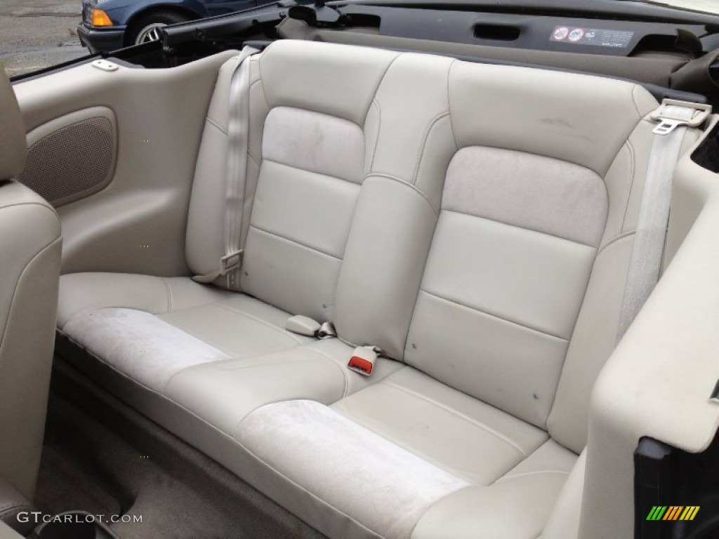 Taupe Interior 2004 Chrysler Sebring Limited Convertible Photo 66864866