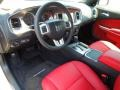Black/Red 2012 Dodge Charger Interiors