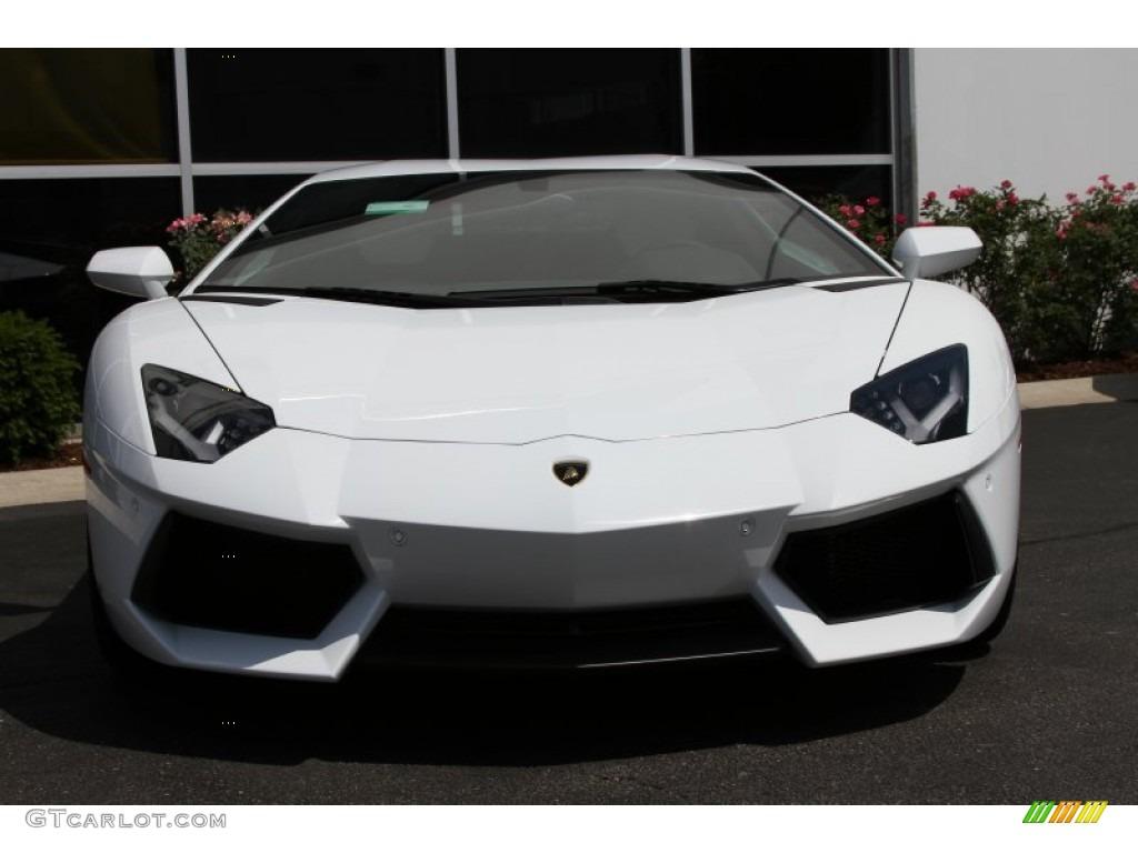 Bianco Isis 2012 Lamborghini Aventador Lp 700 4 Exterior Photo 66871823