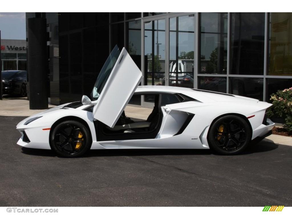 Bianco Isis 2012 Lamborghini Aventador Lp 700 4 Exterior Photo 66872072