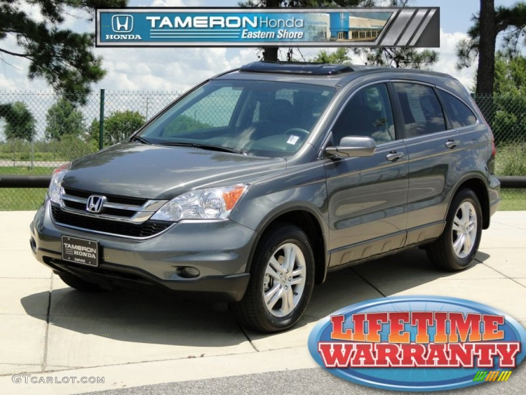 2011 CR-V EX-L - Polished Metal Metallic / Gray photo #1