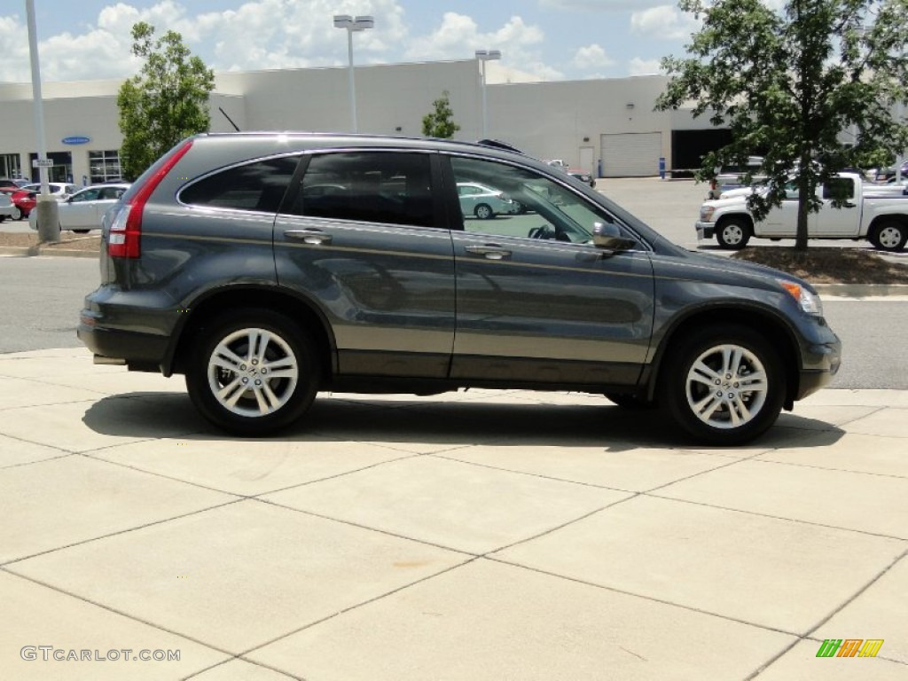 2011 CR-V EX-L - Polished Metal Metallic / Gray photo #4