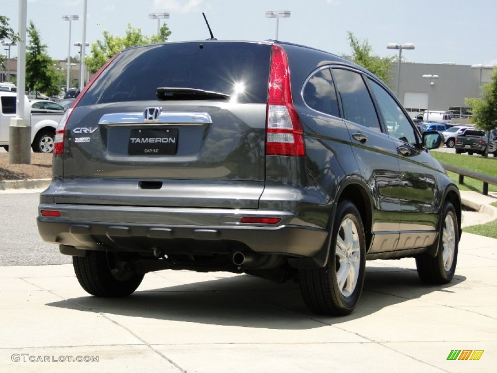2011 CR-V EX-L - Polished Metal Metallic / Gray photo #5