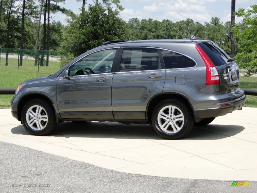 2011 CR-V EX-L - Polished Metal Metallic / Gray photo #7