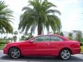 Mars Red 2007 Mercedes-Benz CLK 350 Coupe