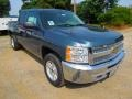 2012 Blue Granite Metallic Chevrolet Silverado 1500 LT Crew Cab 4x4  photo #1