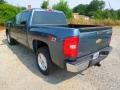 2012 Blue Granite Metallic Chevrolet Silverado 1500 LT Crew Cab 4x4  photo #5