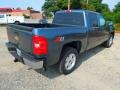 2012 Blue Granite Metallic Chevrolet Silverado 1500 LT Crew Cab 4x4  photo #6