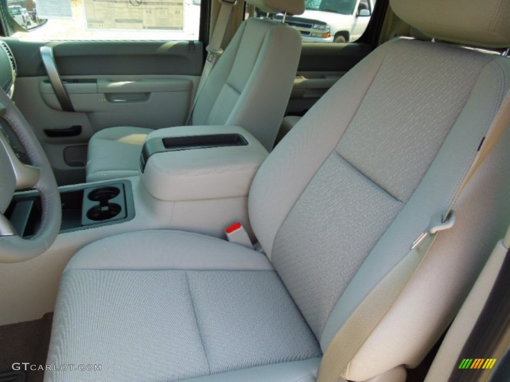2012 Silverado 1500 LT Crew Cab 4x4 - Blue Granite Metallic / Light Titanium/Dark Titanium photo #9