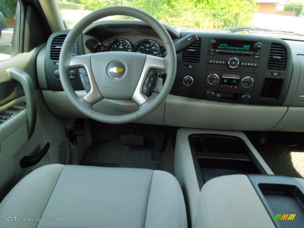 2012 Silverado 1500 LT Crew Cab 4x4 - Blue Granite Metallic / Light Titanium/Dark Titanium photo #16