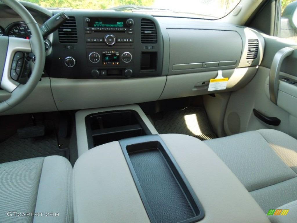 2012 Silverado 1500 LT Crew Cab 4x4 - Blue Granite Metallic / Light Titanium/Dark Titanium photo #17