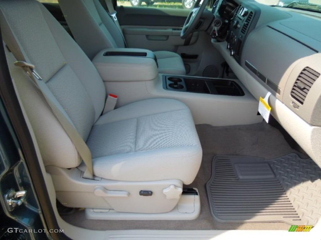 2012 Silverado 1500 LT Crew Cab 4x4 - Blue Granite Metallic / Light Titanium/Dark Titanium photo #20