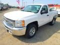 2012 Summit White Chevrolet Silverado 1500 LS Regular Cab 4x4  photo #2