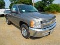 2012 Graystone Metallic Chevrolet Silverado 1500 LS Regular Cab  photo #1